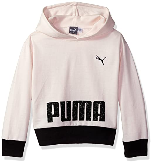 517d76f91c96 Puma Girls  Squad Full Zip Hoodie  Amazon.in  Clothing   Accessories