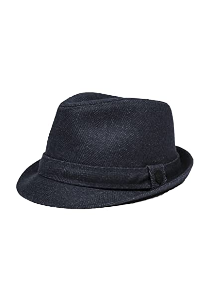 ANTONY MORATO CAPPELLO UOMO TRILBY TWILL MMHA00182-FA550051 s m blue scuro   Amazon.it  Abbigliamento 55885d42df02