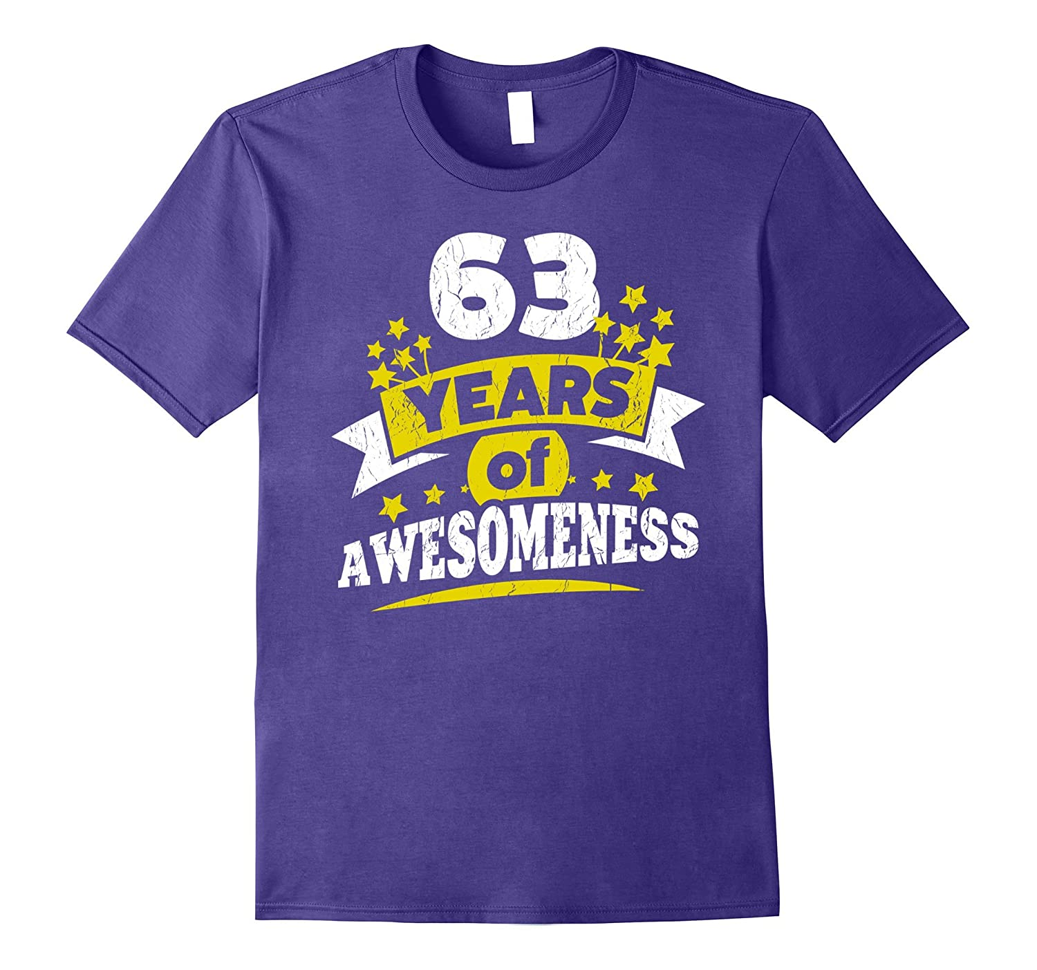 Birthday Gift For 63 Year Old Woman 63rd Tee Shirt PL