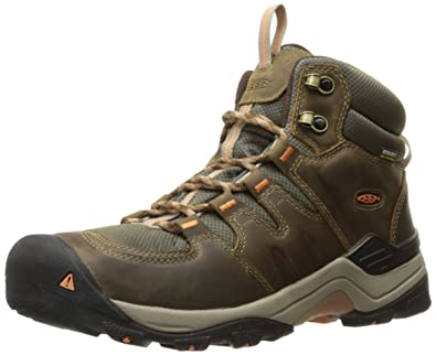 c6558948e29 Amazon.com | Keen Women's Gypsum Ii Mid Wp-w Boot, Corn Stock/Gold ...