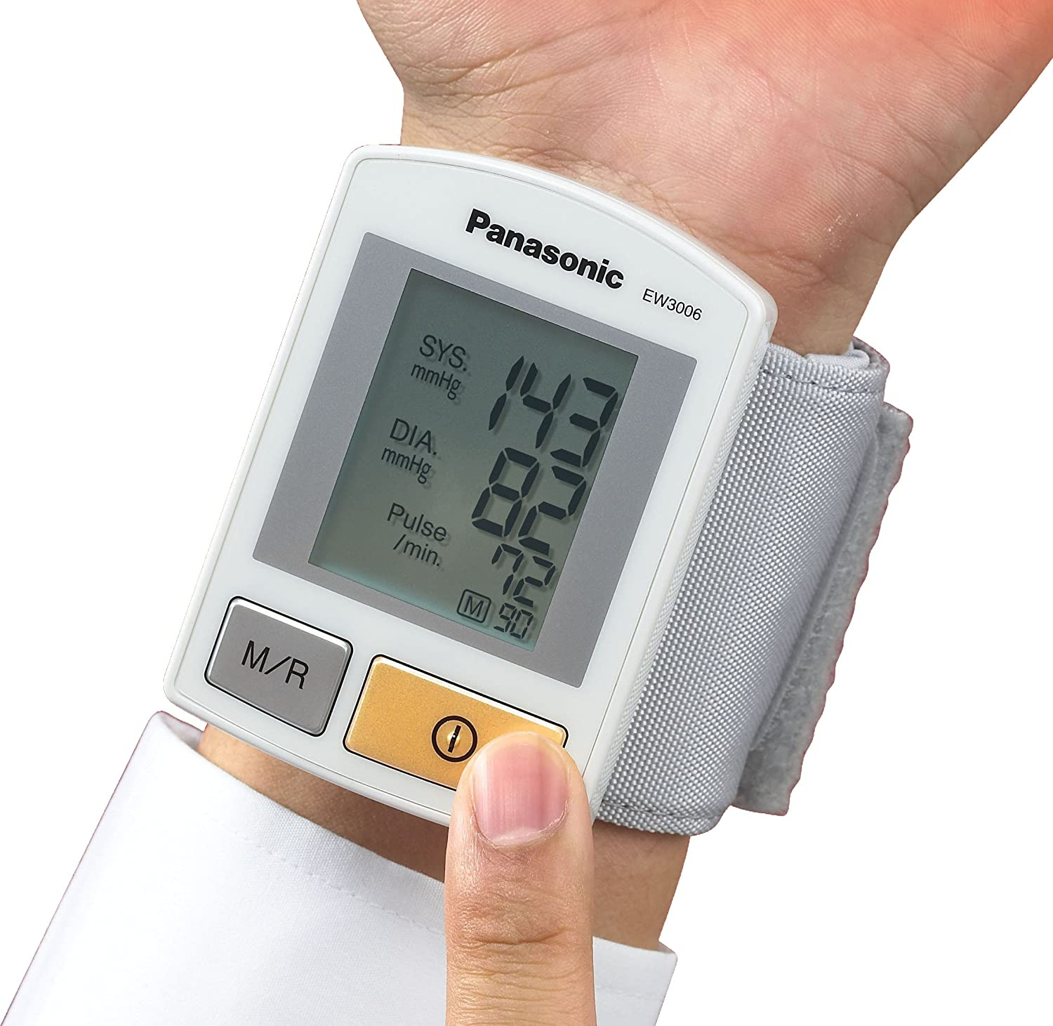 Amazon.com: Panasonic EW3006 Diagnostic Wrist Blood Pressure Monitor: Health & Personal Care