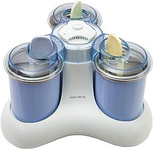 Euro Pro KP300H Triple-Scoop Ice-Cream Maker