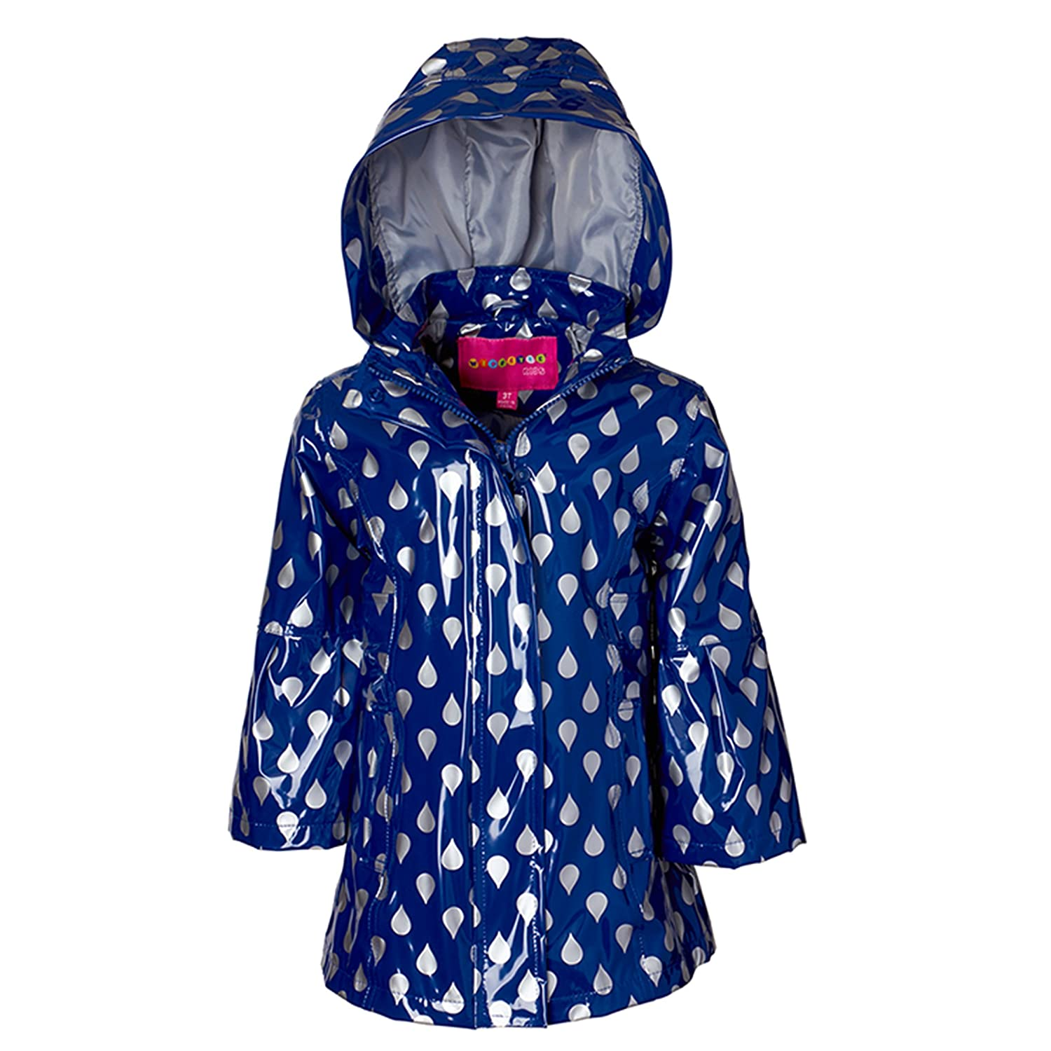 Wippette Girls & Toddlers Raincoat WG605190-NVY-12M