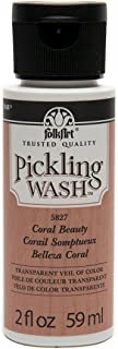 product image for FolkArt Pickling Wash in Assorted Colors (2 oz), Coral Beauty