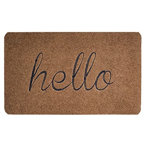 Beautiful BIGA Front Door Mat: Premium Entrance Welcome Mat| Sturdy, Durable,  Biodegradable 30