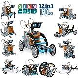 CIRO ソーラー パワー ロボット キット 太陽光発電 12種類 ロボット 組み立て式 自由DIY 科学実験 男の子 おもちゃ 知育玩具