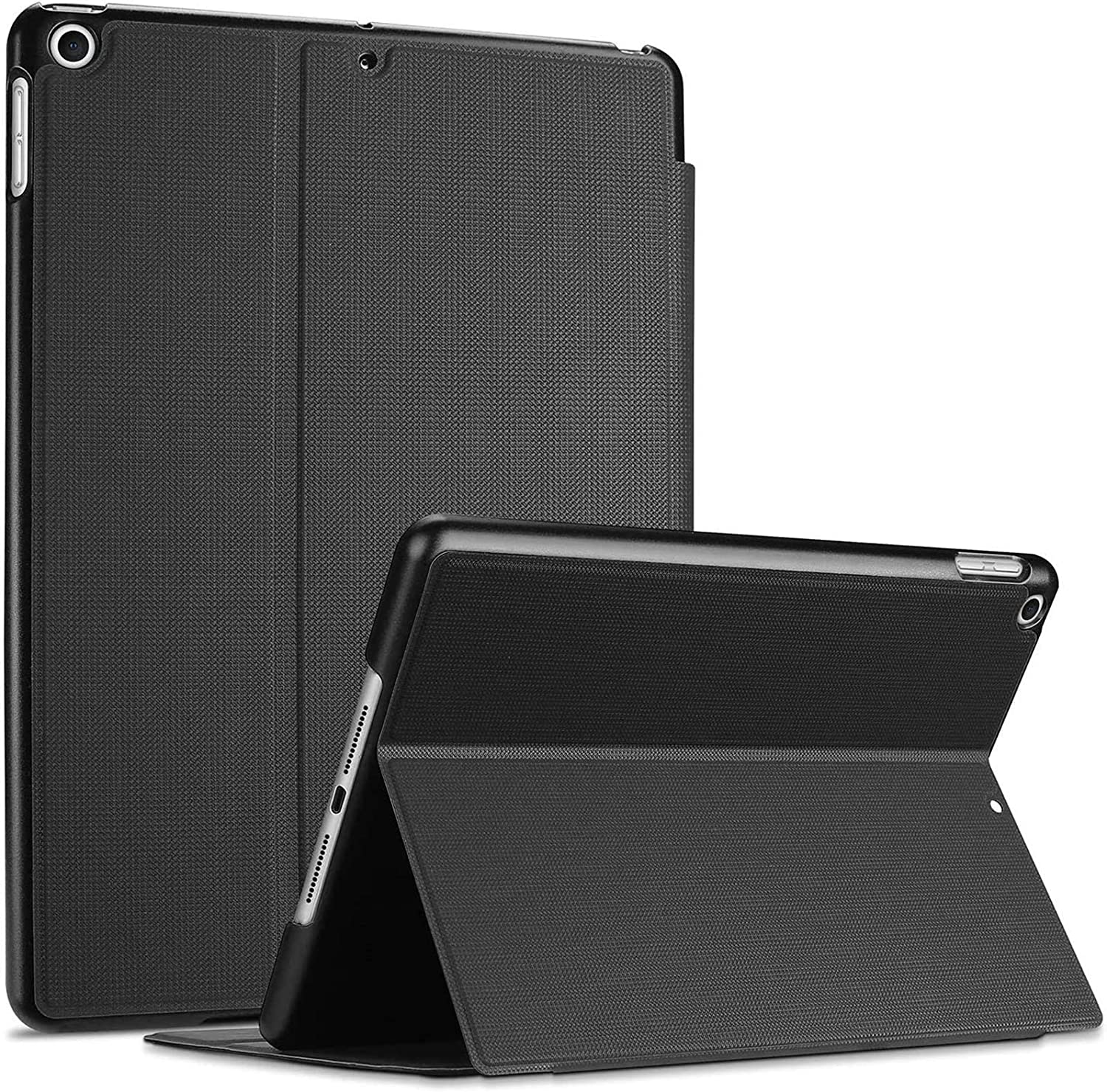"ProCase iPad 10.2 Case 2020 iPad 8th Generation / 2019 iPad 7th Generation Case, Slim Stand Protective Case Folio Cover for 10.2"" iPad 8 2020 / iPad 7 2019 -Black"