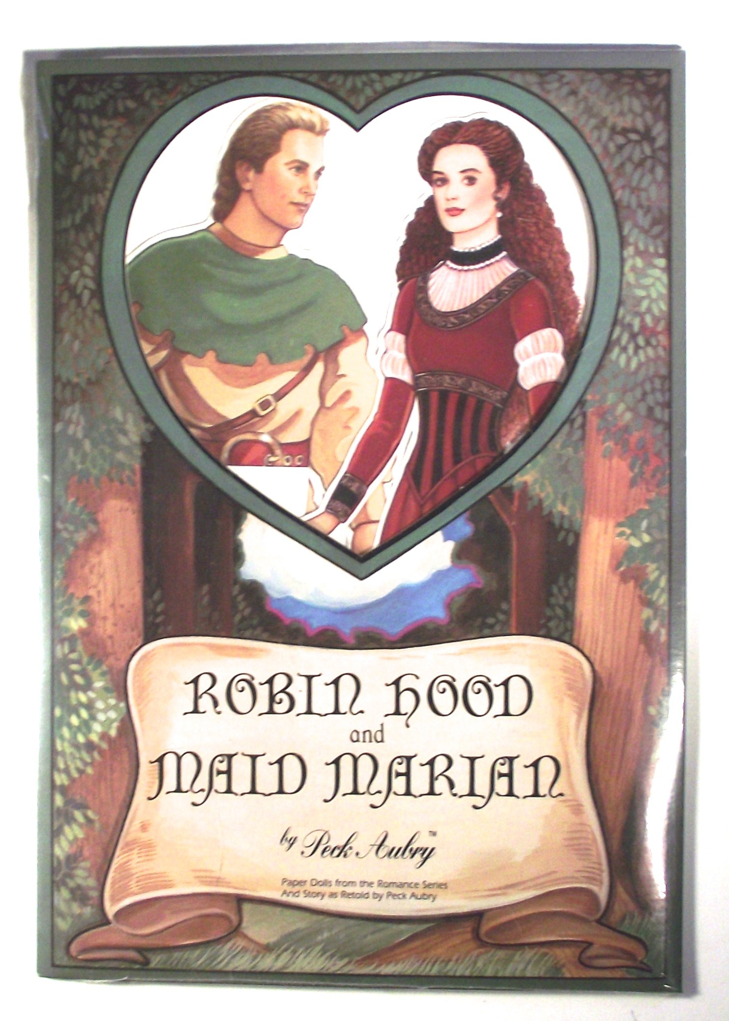 Robin Hood and Maid Marian Paper Dolls by Peck Aubry by Peck-Aubry