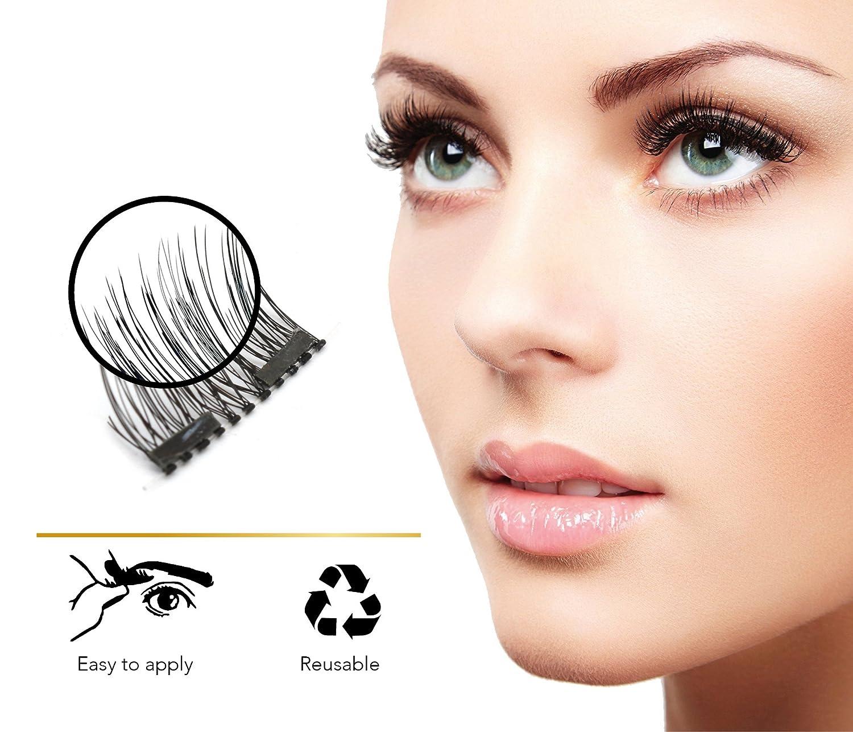 Magnetic Eyelashes Arishine Reusable eyelashes Image 2