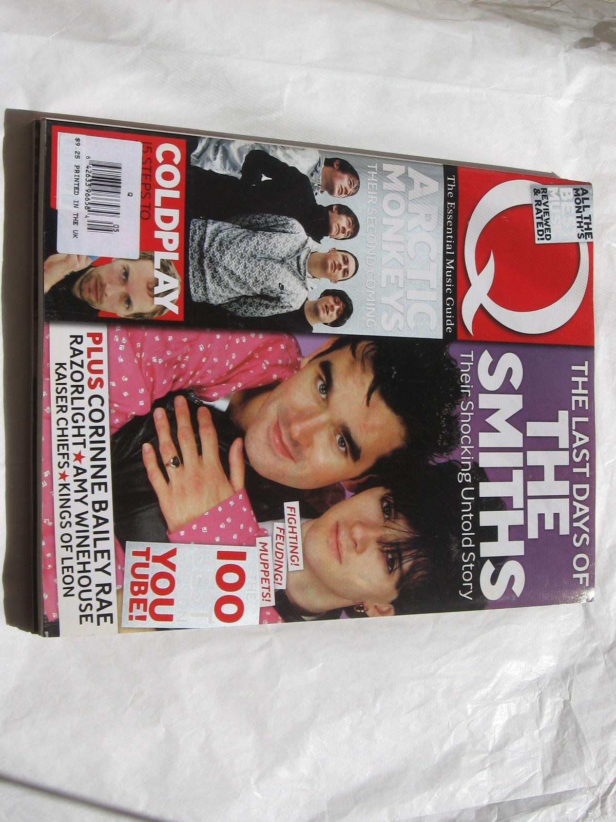 Read Online Q Magazine Issue 250 May, 2007 PDF