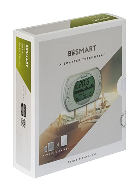 besmart 20111887 Termostato Wi-Fi para smartphone: Amazon.es: Bricolaje y herramientas
