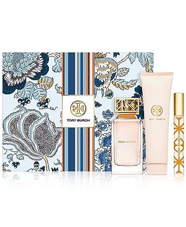 c5067675529 Amazon.com : Tory Burch Eau de Parfum 3-Piece Fragrance Gift Set for Women  : Beauty
