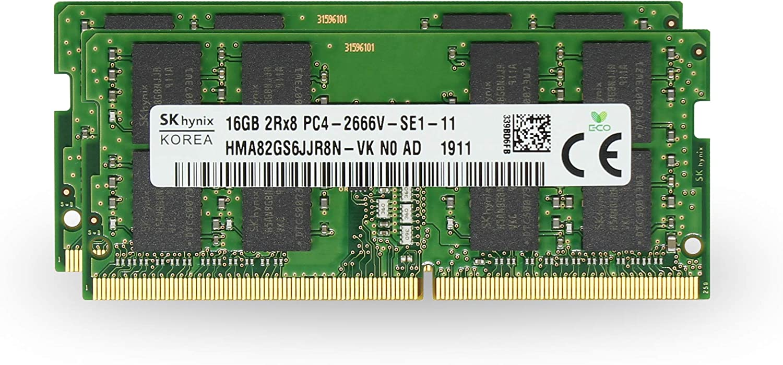 Adamanta 32GB (2x16GB) Geniune Factory Original Memory Upgrade for 2019 Apple iMac 27
