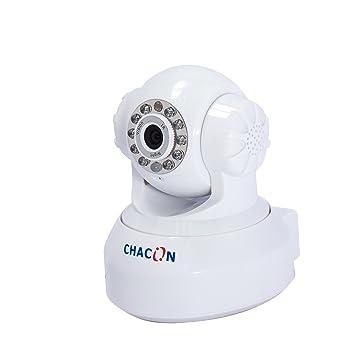 Chacon 34537 Cámara de seguridad IP Interior Almohadilla Blanco 640 x 480Pixeles - Cámara de vigilancia