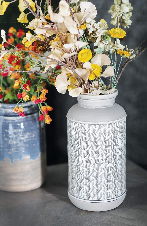 Deco 79 Modern Ceramic Vase 5 W x 12 H Brown