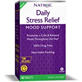 Natrol Daily Stress Relief Mood Support Time Release Tablets, Promotes a Calm & Relaxed Mood, Supports Healthy Serotonin…