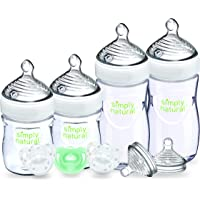 NUK Simply Natural Baby Bottle Newborn,  5 Ounce & 9 Ounce (Gift Set)