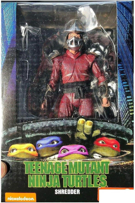 Neca statuina action figure shredder serie teenage mutant ninja turtles 54109