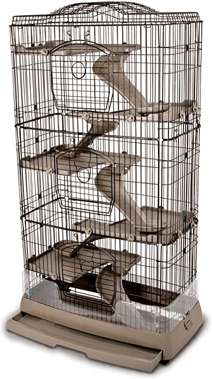 Ware Mfg Clean Living 6.0 Small Animal Cage For Chinchilla And Ferret Inc