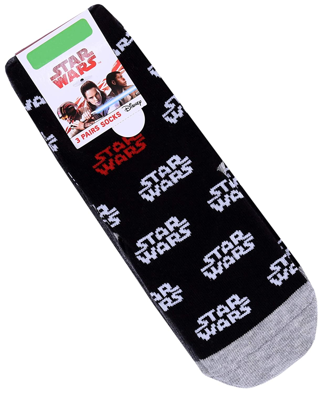 Star Wars Calcetines negros y grises : : : Disney