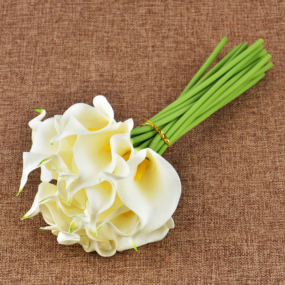 Amazon Wuudi 20pcs Calla Lily Bridal Wedding Bouquet Head Latex