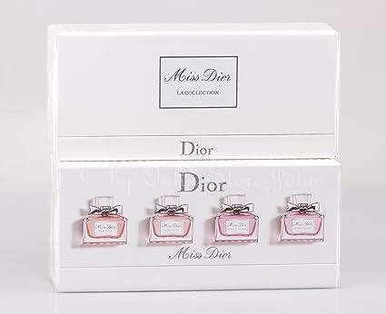 Christian Dior – Miss Dior la colección – 4 x 5 ml miniaturas EDP + agua