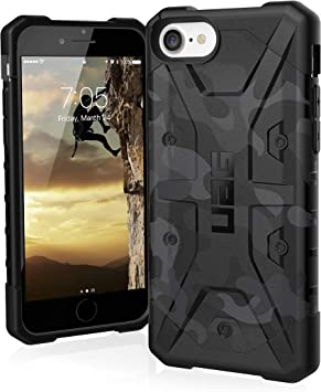 Urban Armor Gear Coque de protection pour iPhone SE (2020) [écran 4,7 pouces] Pathfinder SE [Camouflage Midnight Camo] robuste résistant aux chocs ...