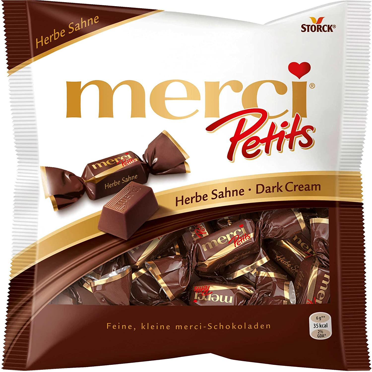 Amazon.com : Merci Petits Dark Chocolate : Candy And Chocolate ...