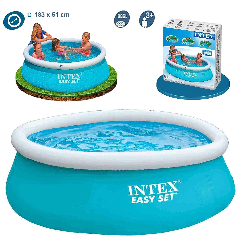 Intex 6ft X 20in Easy Set Swimming Pool 28101 Amazon Garden