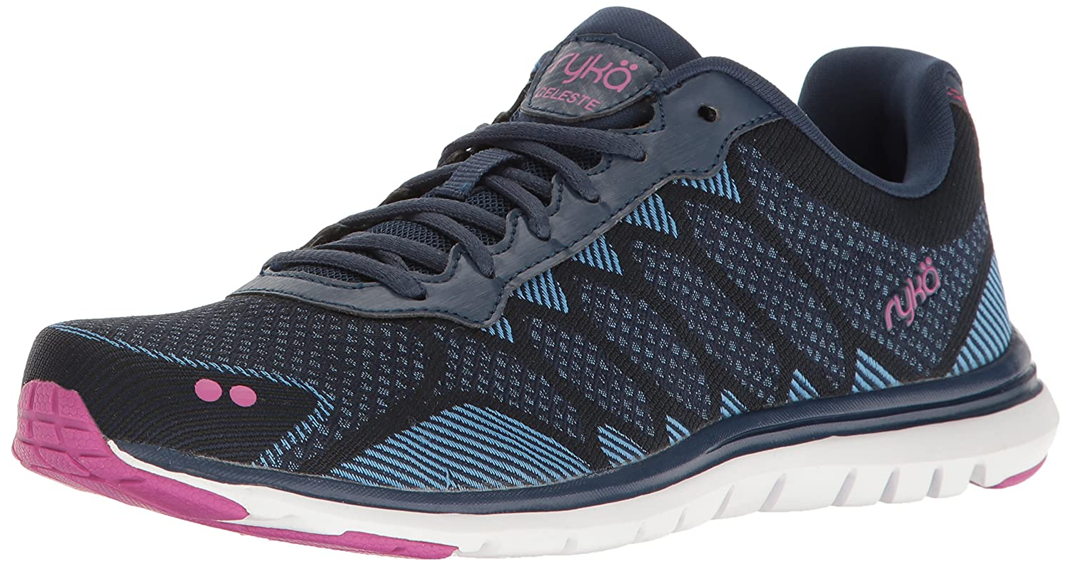Ryka Women's Celeste Walking Shoe B01MCTTA6L 5.5 B(M) US|Navy/Blue