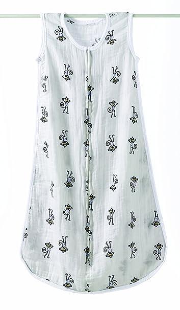 aden + anais 8053 - Saco de dormir clásico, prelavado y fabricado con muselina de 100% algodón: Amazon.es: Ropa y accesorios