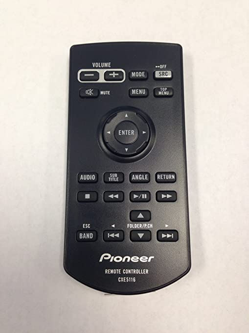 amazon com pioneer cxe5116 car audio system remote control electronics rh amazon com pioneer receiver remote control manual pioneer axd7246 remote control manual