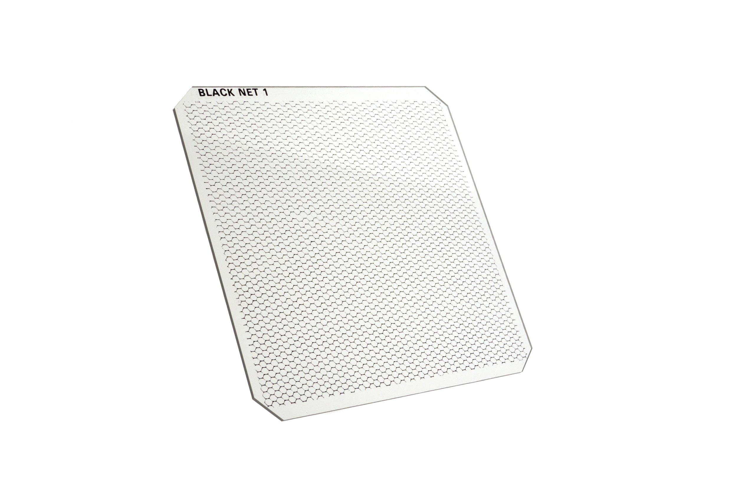 Formatt-Hitech 100x100mm (4x4'') Resin Black Net 1 by Formatt Hitech Limited