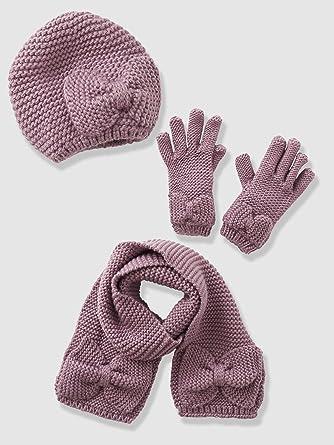 ffe14c27874 Vertbaudet - Echarpe fille + bonnet + moufles ou gants  Amazon.fr ...