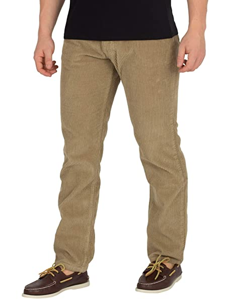 Lois Jeans Hombre Pantalones Cordones Jumbo Terraza, Marrón ...