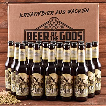 Wacken Brauerei Baldur - Pack de cervezas caseras - 18 botellas de ...