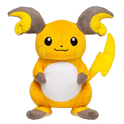 Image result for raichu pokemon plush