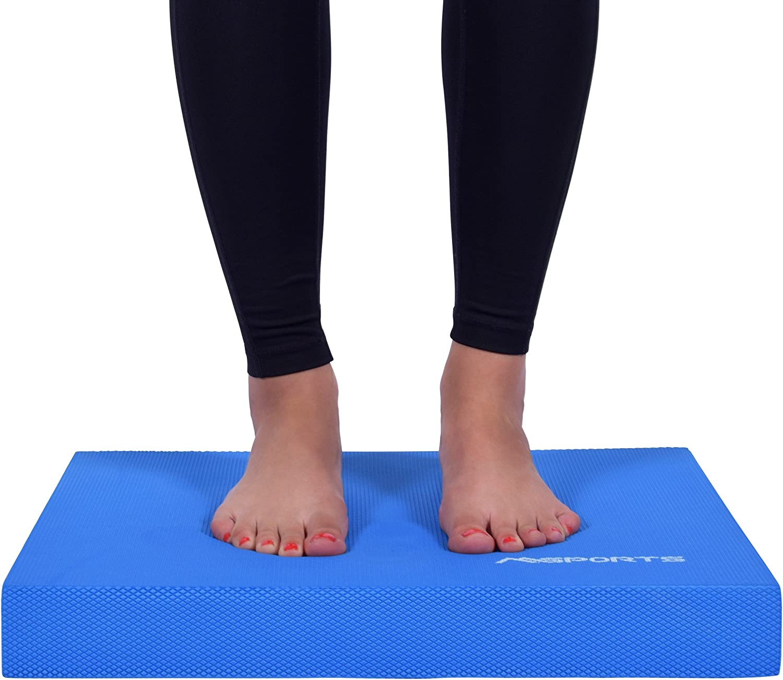 /Übungsposter Gleichgewichtstraining und Koordinationstraining Premium MSPORTS Balance Pad inkl Balance