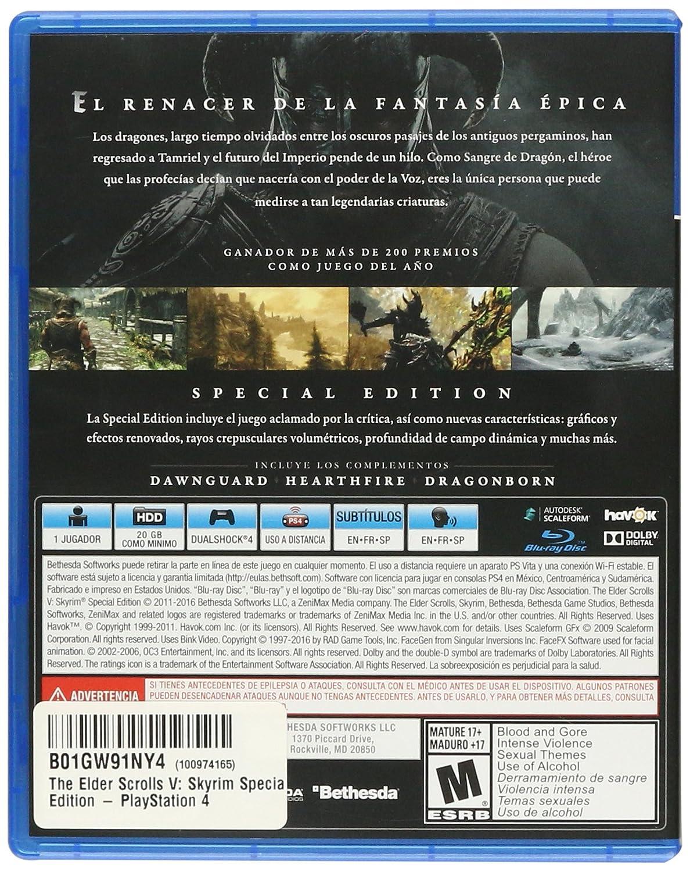 The Elder Scrolls V: Skyrim Special Edition - PlayStation 4