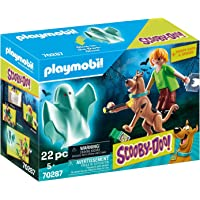 PLAYMOBIL SCOOBY-DOO! Scooby & Shaggy con Fantasma, A partir de 5 años (70287)