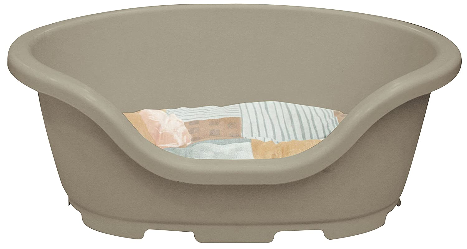 CROCI Morfeo Plastic Bed for Dogs, 19 x 83 x 35 cm