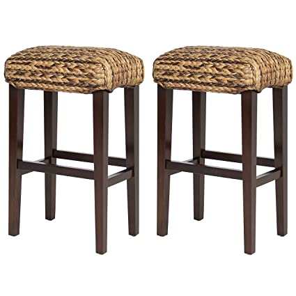 Amazoncom Best Choice Products Bcp Set Of 2 Hand Woven Seagrass