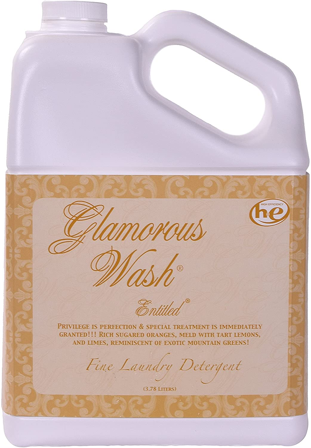 Tyler ENTITLED Glamorous Fine Laundry Detergent, 128 Ounce