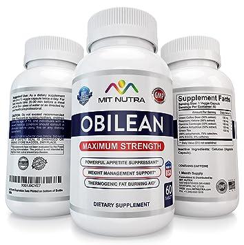 Obilean Pharmaceutical Otc Weight Loss Pills For Women Men White Tabs Blue Specks