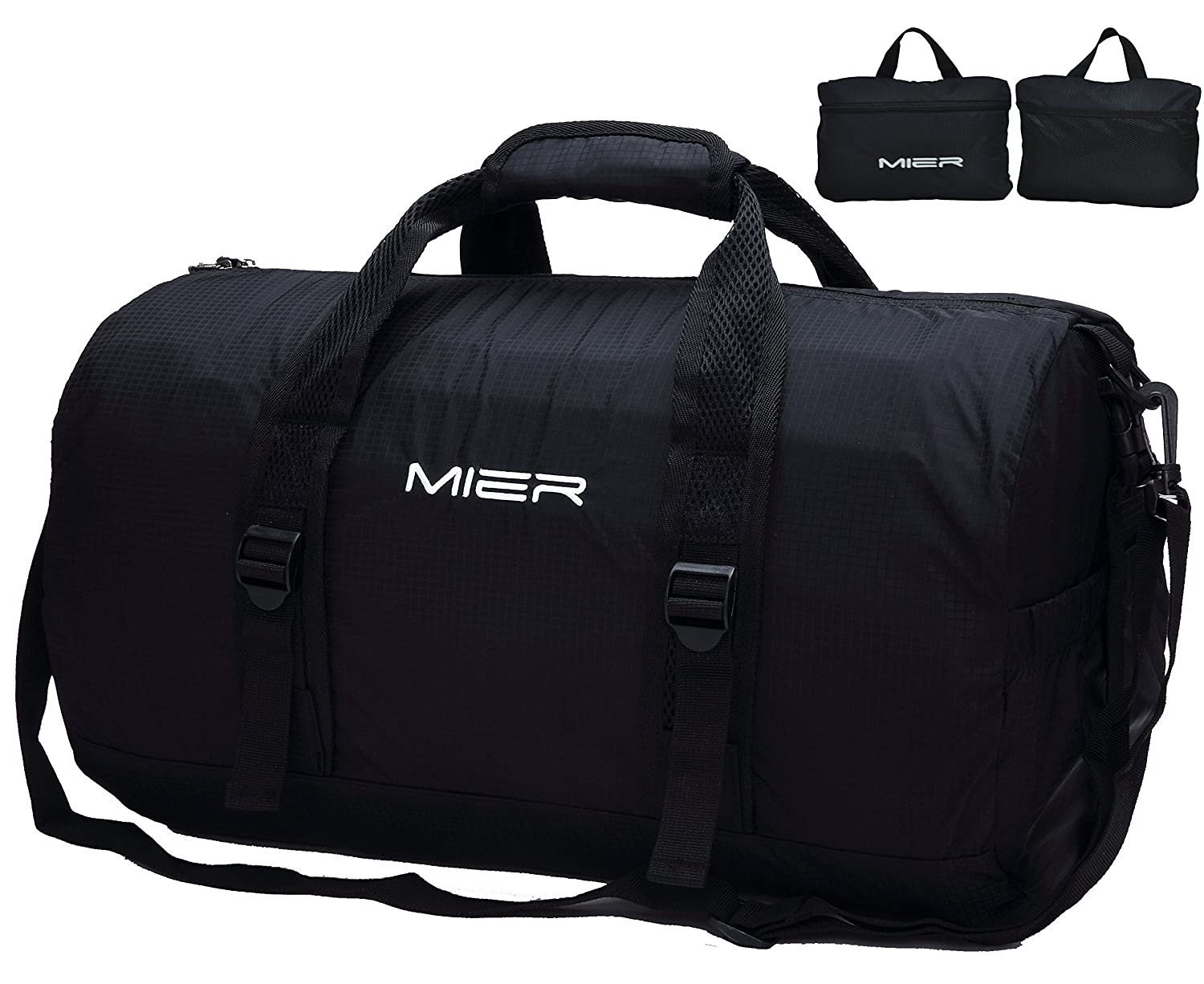 Amazon.com | MIER Foldable Small Duffel Bag Lightweight for Sports ...
