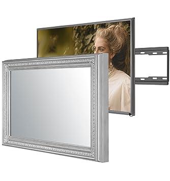 Handgemacht Eingerahmter Spiegel TV mit Samsung: Amazon.de: Elektronik
