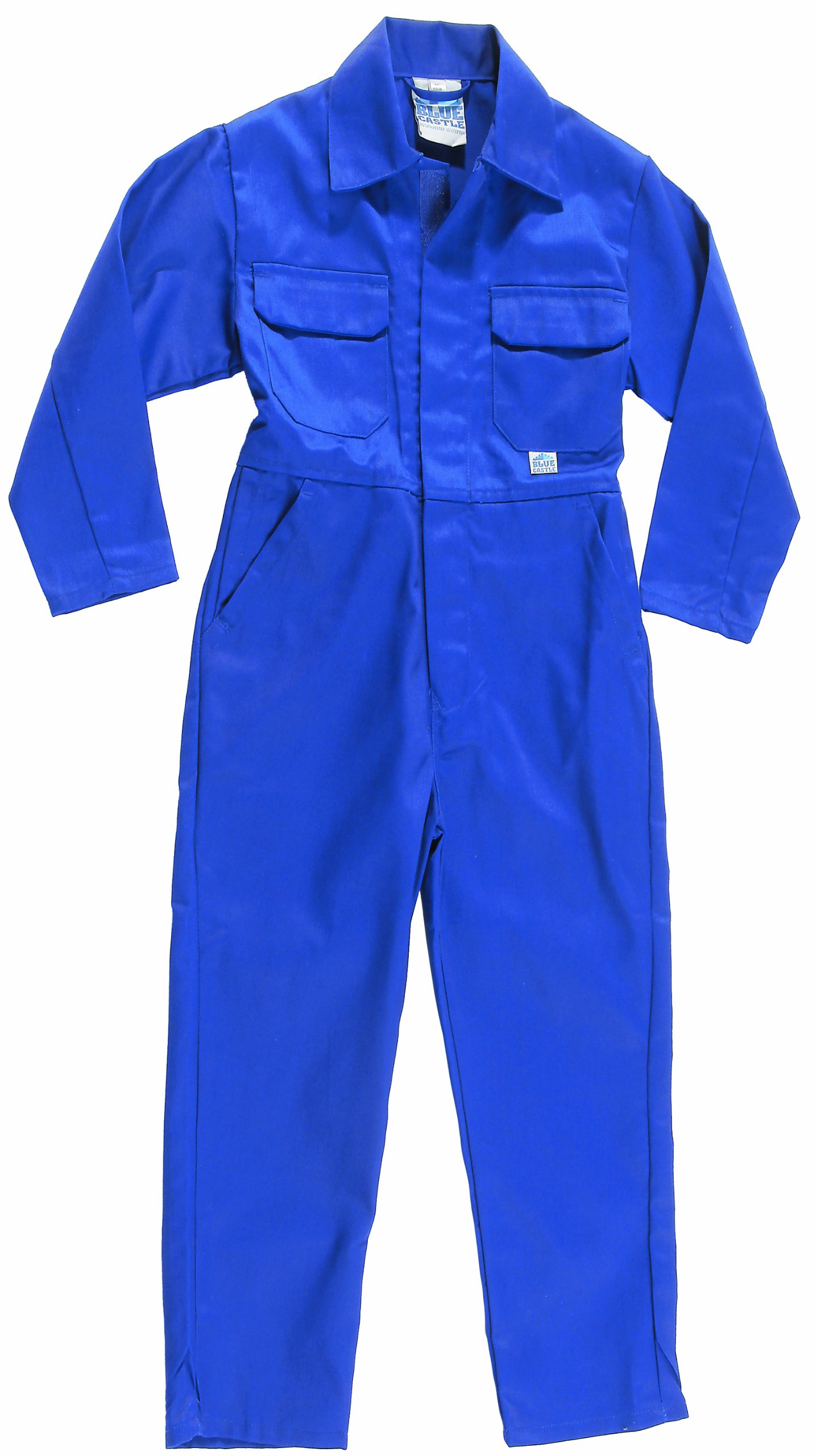"Castle Clothing Children's Coveralls - Royal Blue (Chest Size 20"")"