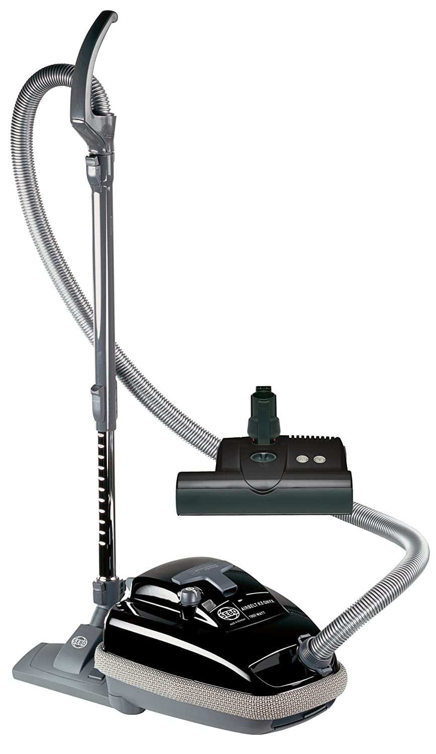 Sebo vacuum cleaners at bed bath and beyond - Amazon Com Sebo 9688am Airbelt K3 Canister Vacuum With Et 1 Powerhead And Parquet Brush Black Corded Sebo Vacuum Bags