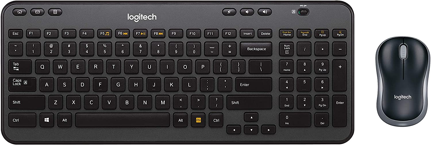 Top Sellers in Computer Keyboard & Mouse Combos - Logitech Wireless Combo MK360 – Includes Keyboard with 12 Programmable Keys and Wireless Mouse, Compact Package Perfect for Travel, 3-Year Battery Life