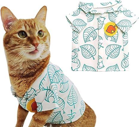 YuDanae Animal Tom Nook Shirt for Cat Small Dog Pet Cosplay Costume